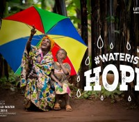 Water is hope Agua es esperanza