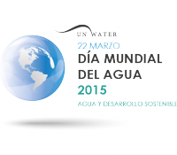 World water day 2015 Horizontal logo
